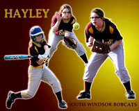 Hayley Moquin - South Windsor Softball